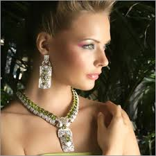Girl with jewelry